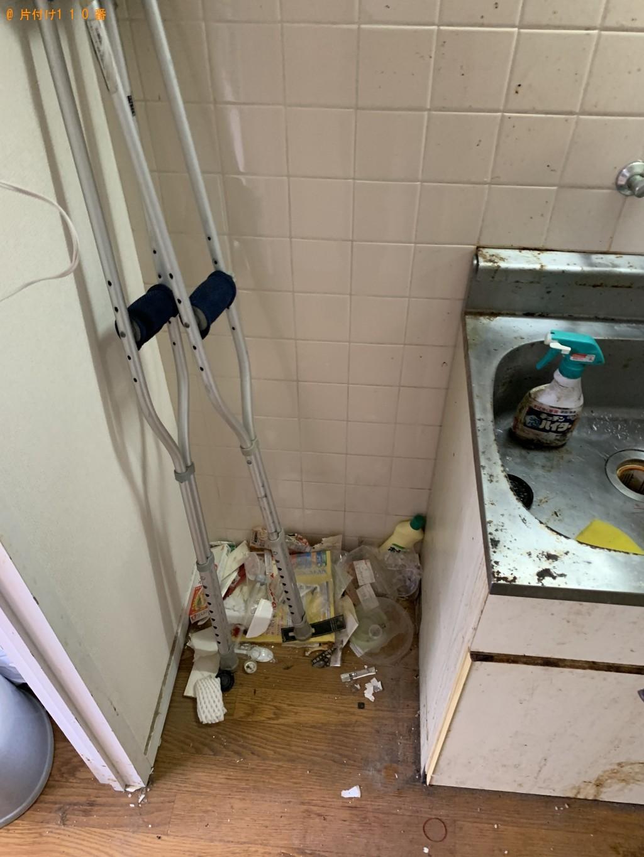 【京都市中京区】洗濯機、シングルベッドフレーム、チェスト等の回収・処分 お客様の声