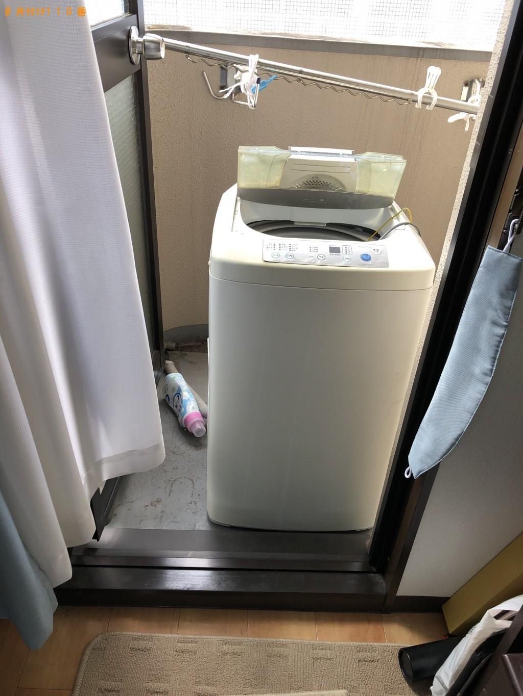 【京都市上京区】洗濯機1台出張回収処分ご依頼 お客様の声