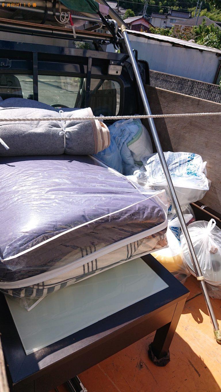【七ケ宿町】軽トラック1台分程度の出張不用品回収・処分ご依頼