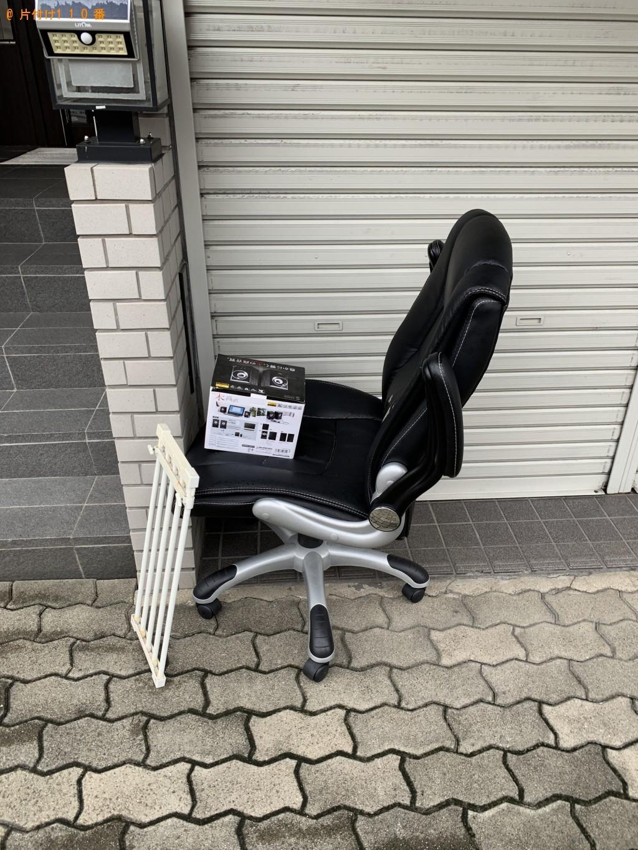 【浦河町】椅子、スピーカー等の回収処分ご依頼 お客様の声