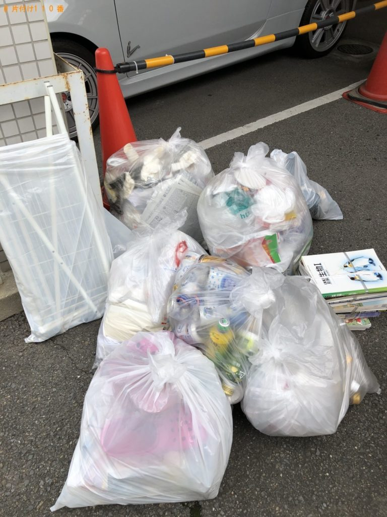 【宇治市小倉町】家庭ゴミの出張不用品回収・処分ご依頼 お客様の声
