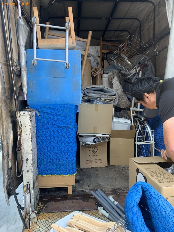 【八幡市】2トントラック1台分程度の出張不用品回収・処分ご依頼
