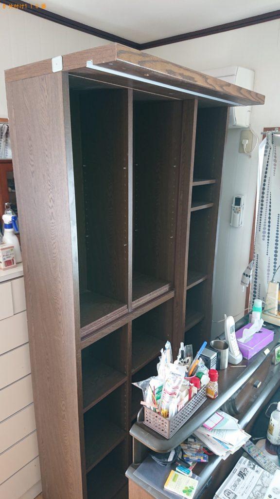 【福知山市】掃除機・スライド書庫の出張不用品回収・処分ご依頼
