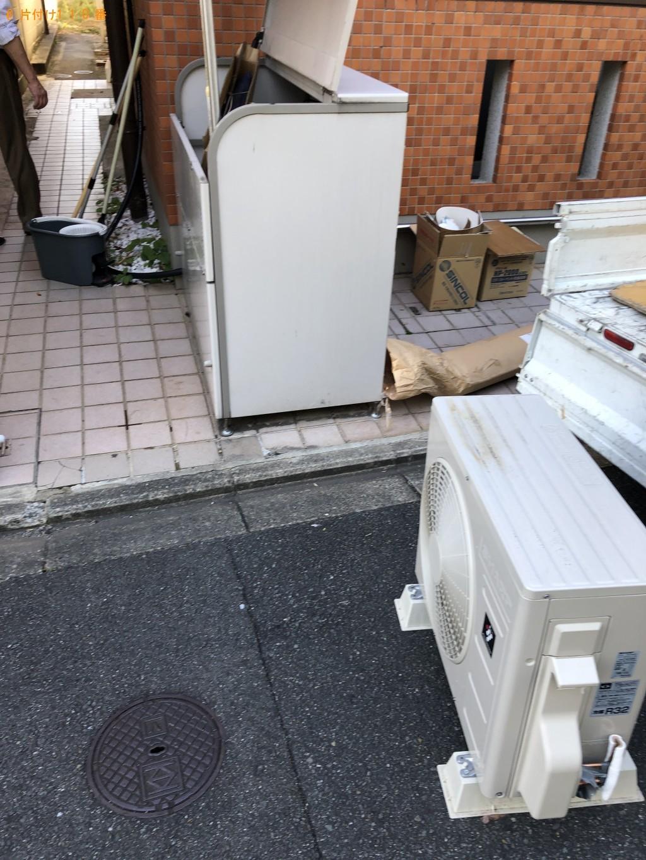 【武蔵村山市】エアコンなどの出張不用品回収・処分ご依頼