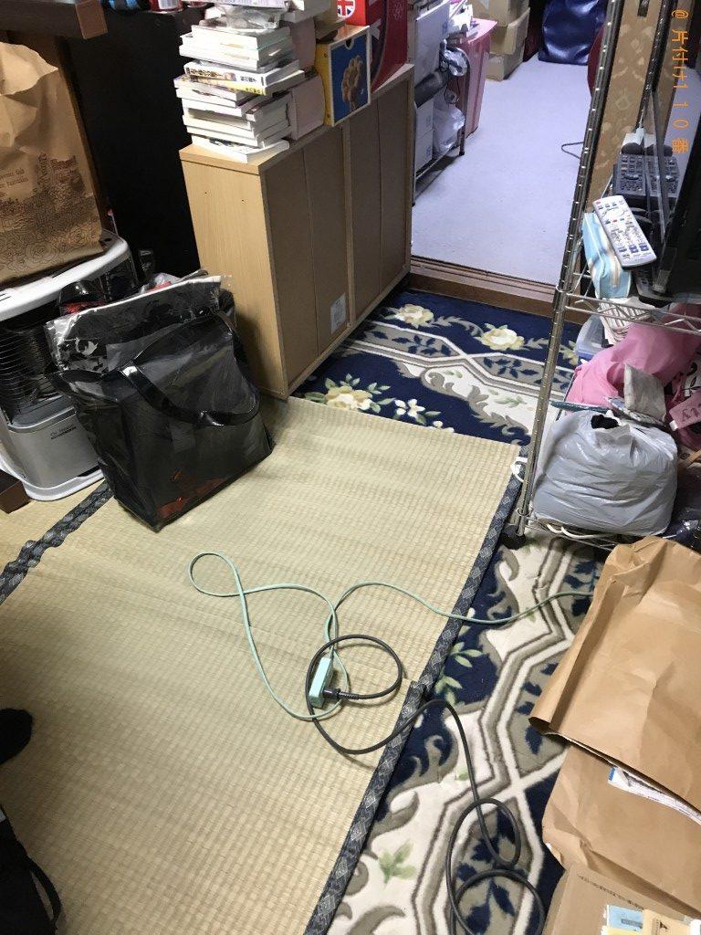【京都市伏見区】庭や倉庫にある不用品を軽トラに乗せる作業の手伝い