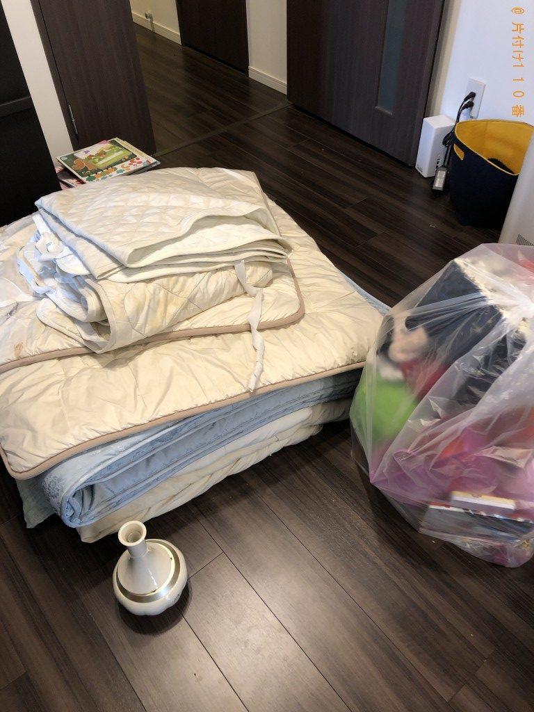【京都市右京区】ウレタンマットレス、シングルベッド等の回収・処分