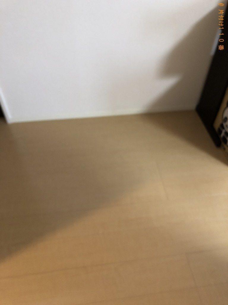 【京都市右京区】シングルベッドマットレス、ダンボールの回収・処分