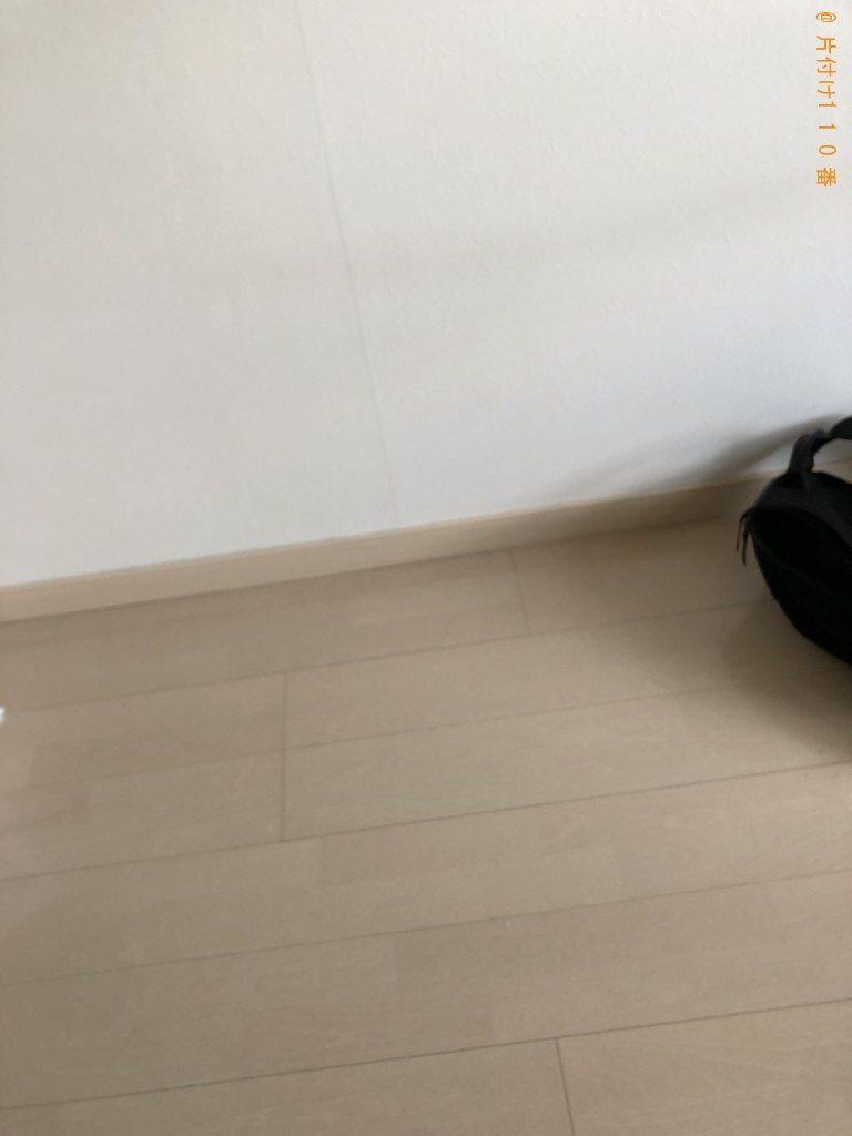 【京都市左京区】電子レンジ、ソファー、ダンボールの回収・処分