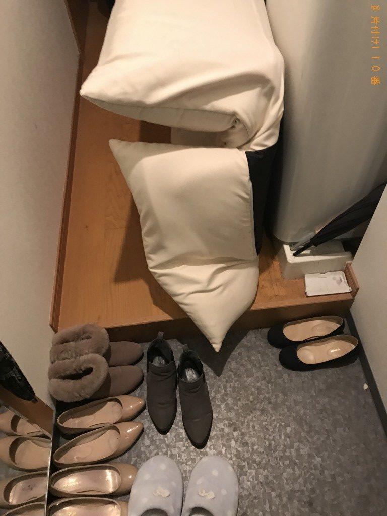 【京都市上京区】ソファーベッドの回収・処分ご依頼