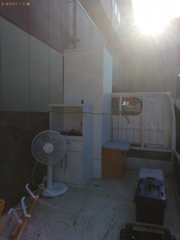 【川島町】扇風機、整理ダンス、食器棚等の回収・処分ご依頼