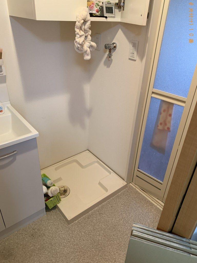 【京都市下京区】冷蔵庫、洗濯機、シングルベッドの回収・処分ご依頼