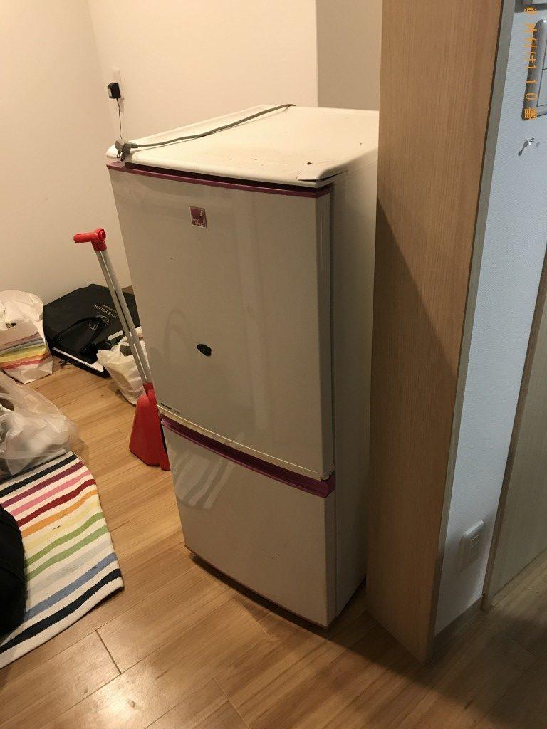 【京都市中京区】冷蔵庫、テレビ、掃除機などの回収・処分ご依頼