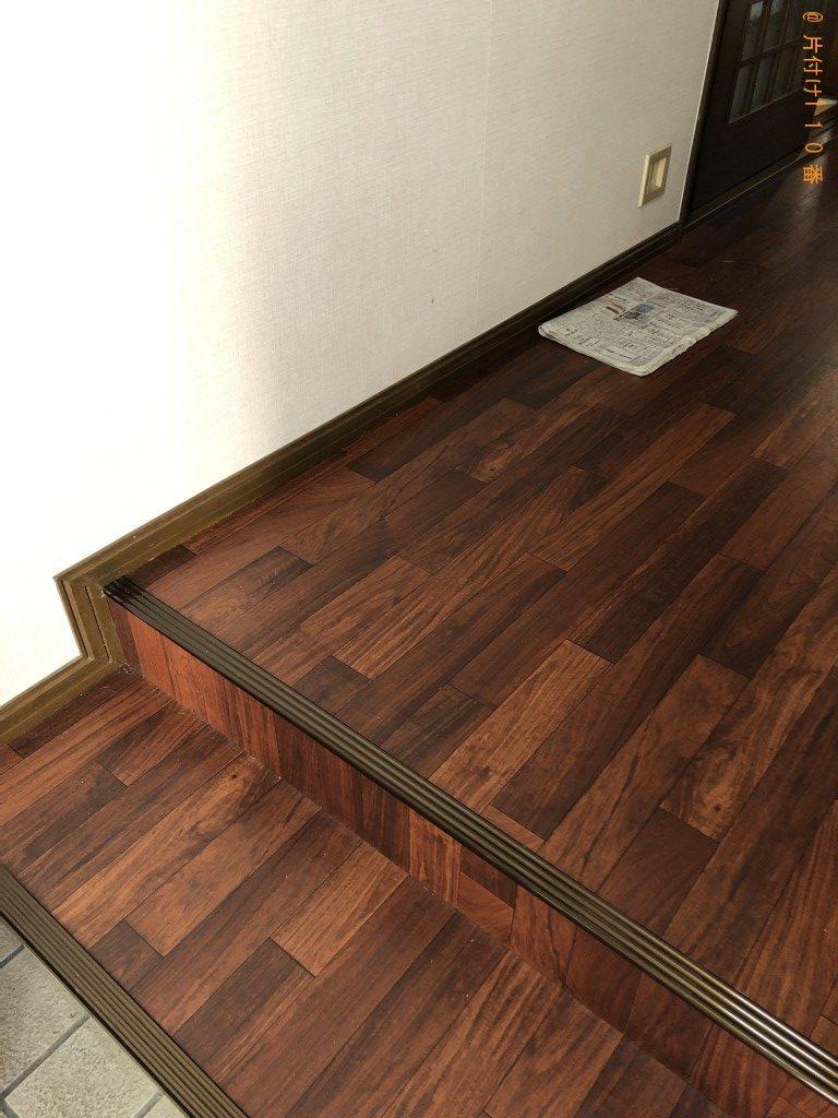 【京都市北区】こたつテーブル、座椅子等の不用品回収・処分ご依頼