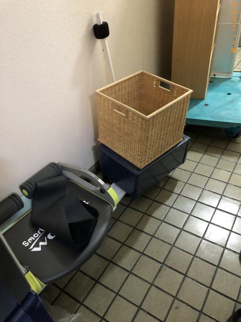【京都市伏見区】スタンドミラー、ソファーなどの回収・処分のご依頼