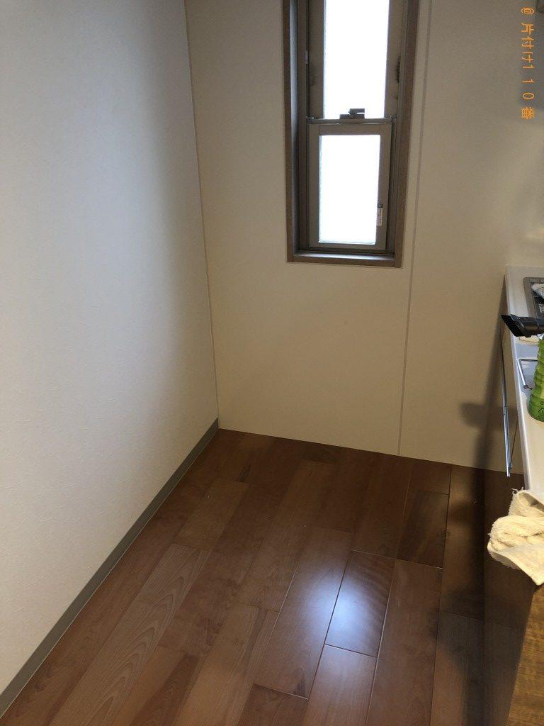 【京都市中京区】350リットル冷蔵庫冷蔵庫の出張回収・処分ご依頼