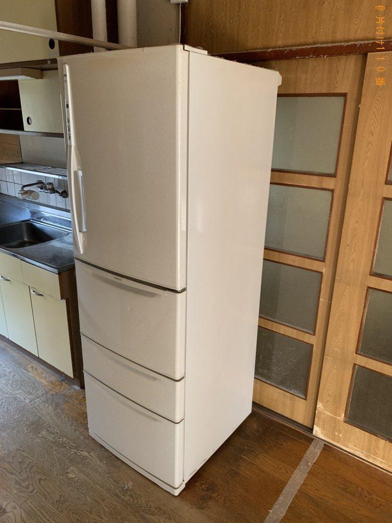 【京都市伏見区】冷蔵庫、エアコン、食器棚等の回収・処分ご依頼