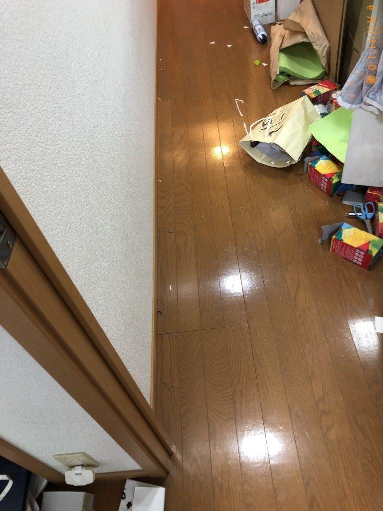 【京都市右京区】CRTモニタ、カウンターテーブル等の回収・処分