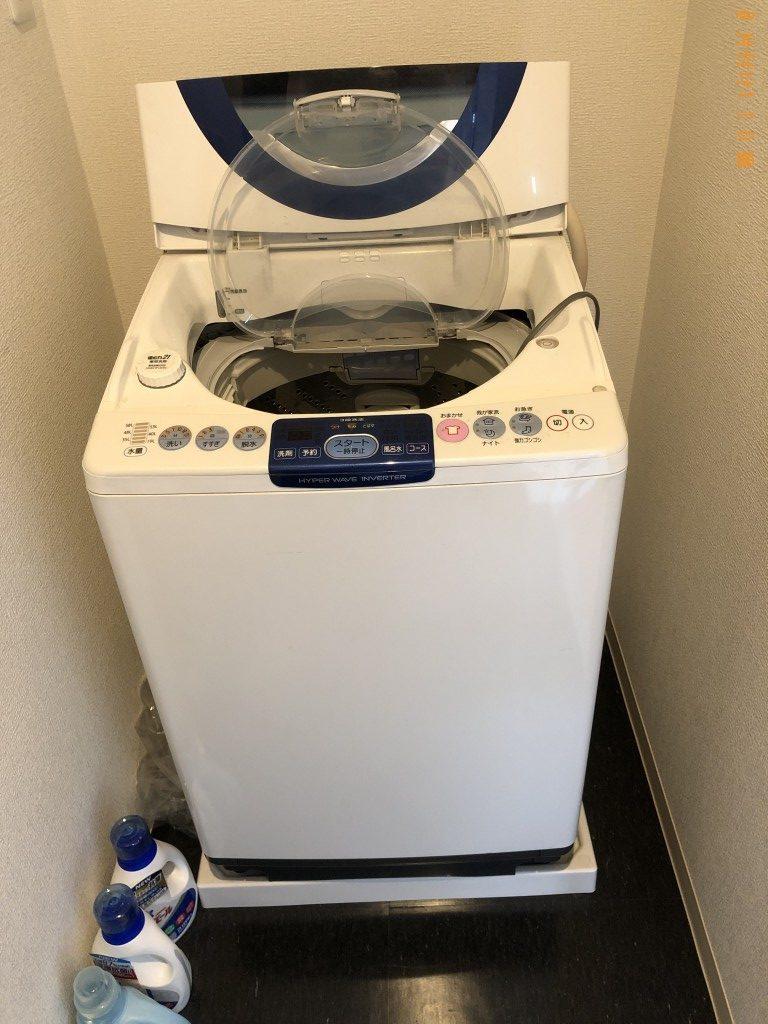 【京都市右京区】洗濯機の回収・処分ご依頼