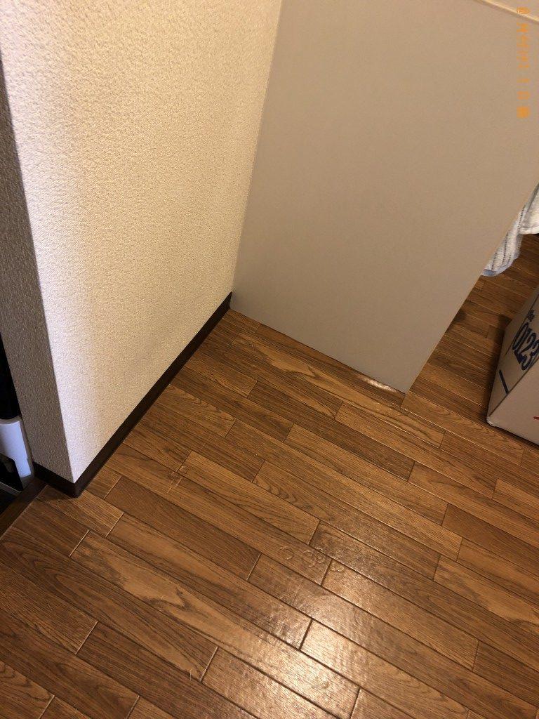 【京都市北区】冷蔵庫、ポット、電子レンジ、ゴザの回収・処分ご依頼