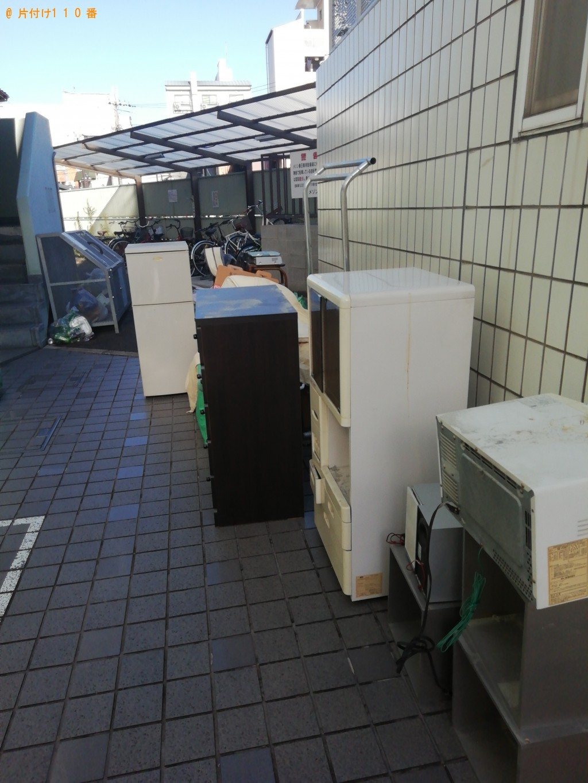 【京都市右京区】冷蔵庫、洗濯機等の不用品回収・処分ご依頼