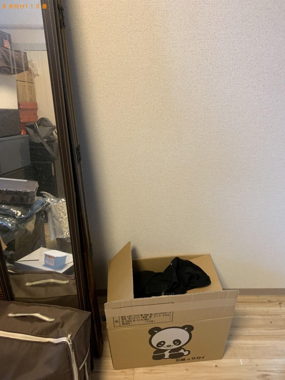 【京都市】軽トラック1台程度の出張不用品の回収・処分ご依頼
