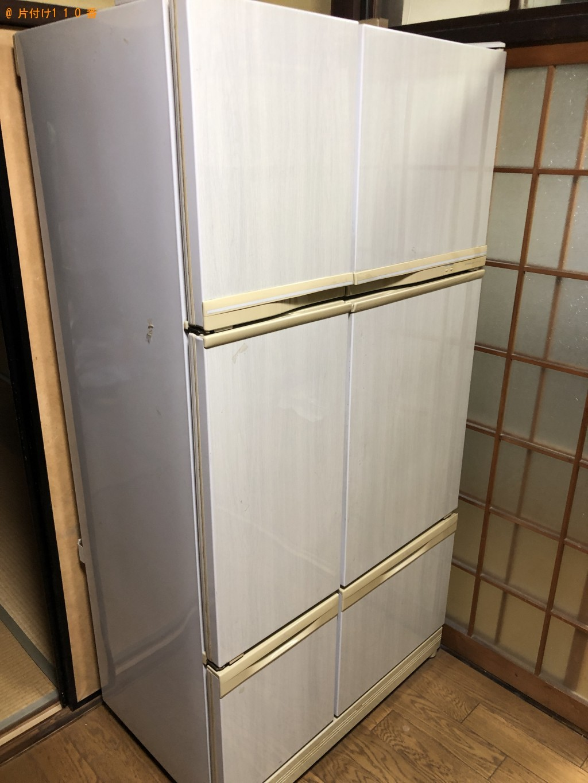 【京都市左京区】冷蔵庫、洗濯機、電子レンジ等の回収・処分ご依頼