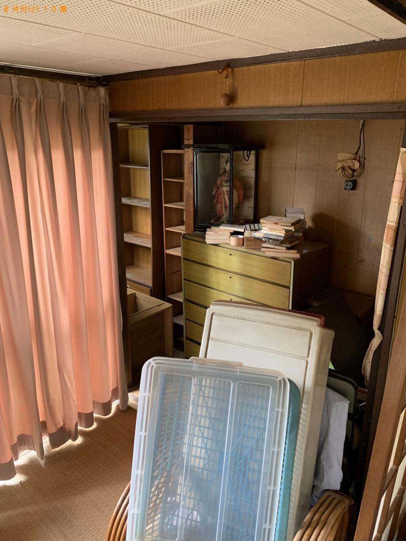 【長岡京市】2tトラック1台程度の出張不用品回収・処分ご依頼