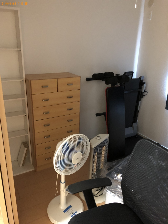 【八幡市下奈良】パソコン、ルームランナーなどの回収・処分のご依頼