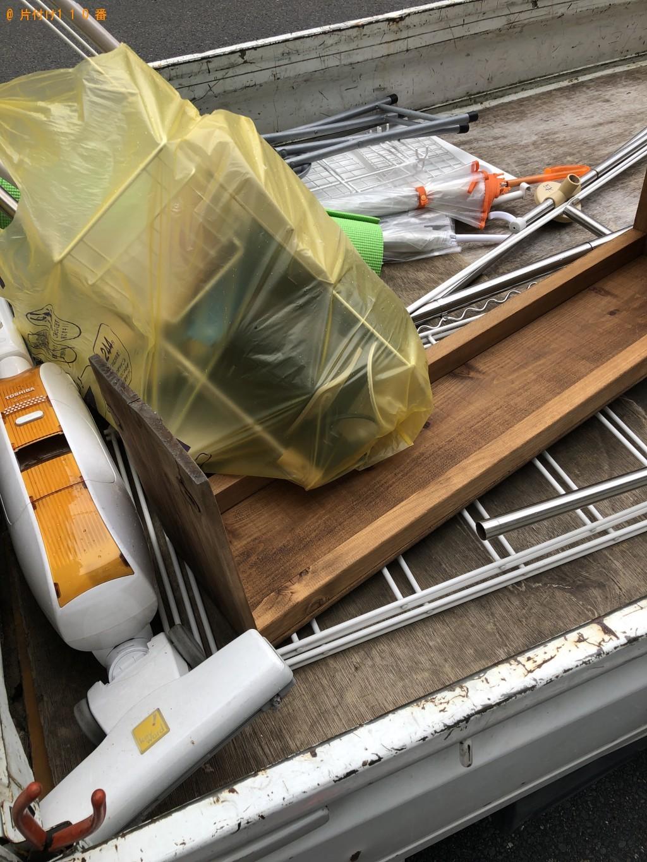 【京都市上京区】テレビ、洗濯ラック等の不用品回収・処分ご依頼