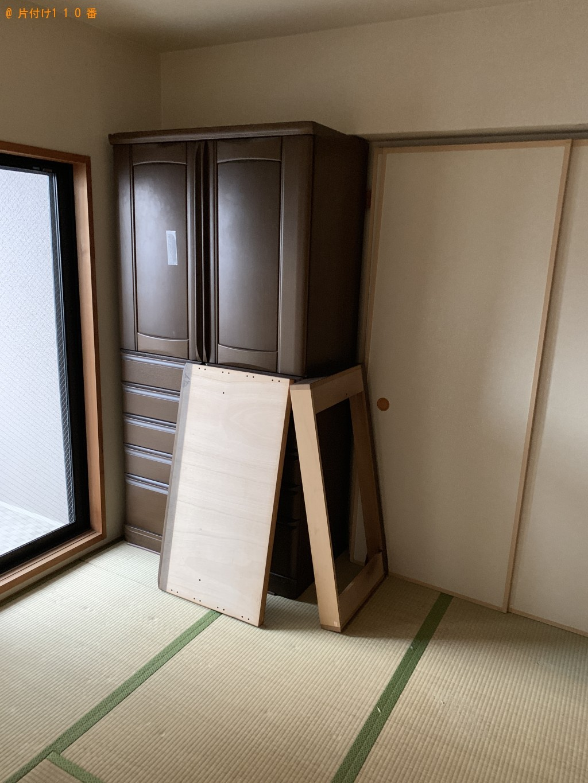 【京都市中京区】クローゼット、食器棚、ソファーの回収・処分の依頼