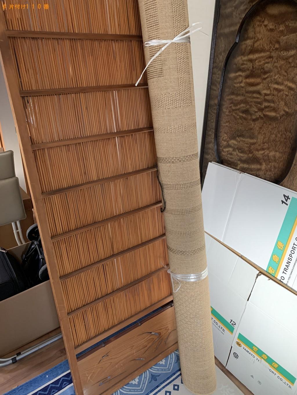【京都市中京区】電子レンジ、カーペット、整理タンス等の回収・処分