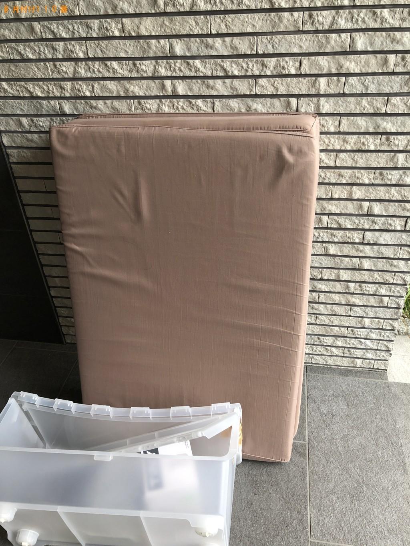 【京都市上京区】掃除機、ベッドマットレスの回収・処分ご依頼