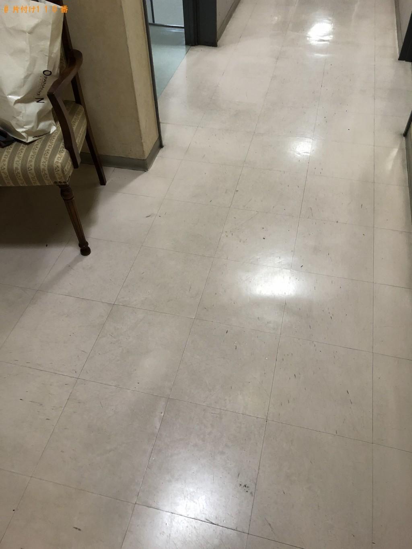 【京都市中京区】掃除機・PCデスク等の出張不用品回収・処分ご依頼
