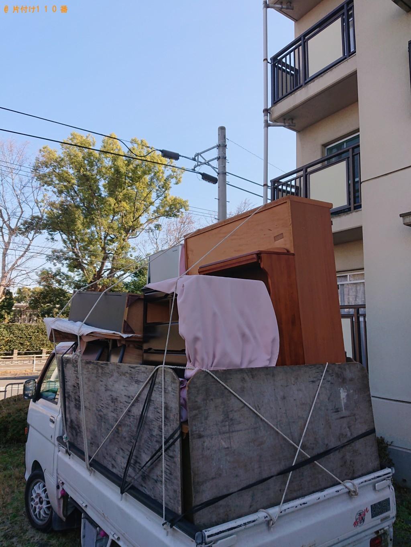 【京都市右京区】冷蔵庫、エアコン、仏壇などの回収・処分ご依頼