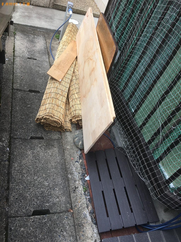 【京都市右京区】こたつ、パイプ椅子、犬小屋等の回収・処分ご依頼