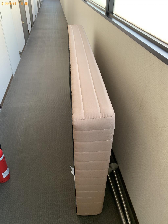 【京都市南区】シングルベッド、アイロン、アイロン台などの回収・処分 お客様の声