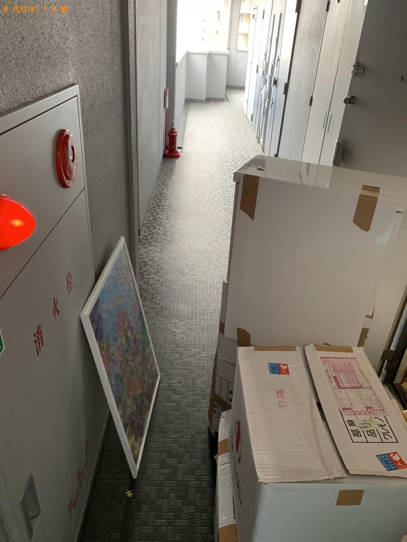 【京都市下京区】収納棚、ワインクーラーの回収・処分ご依頼