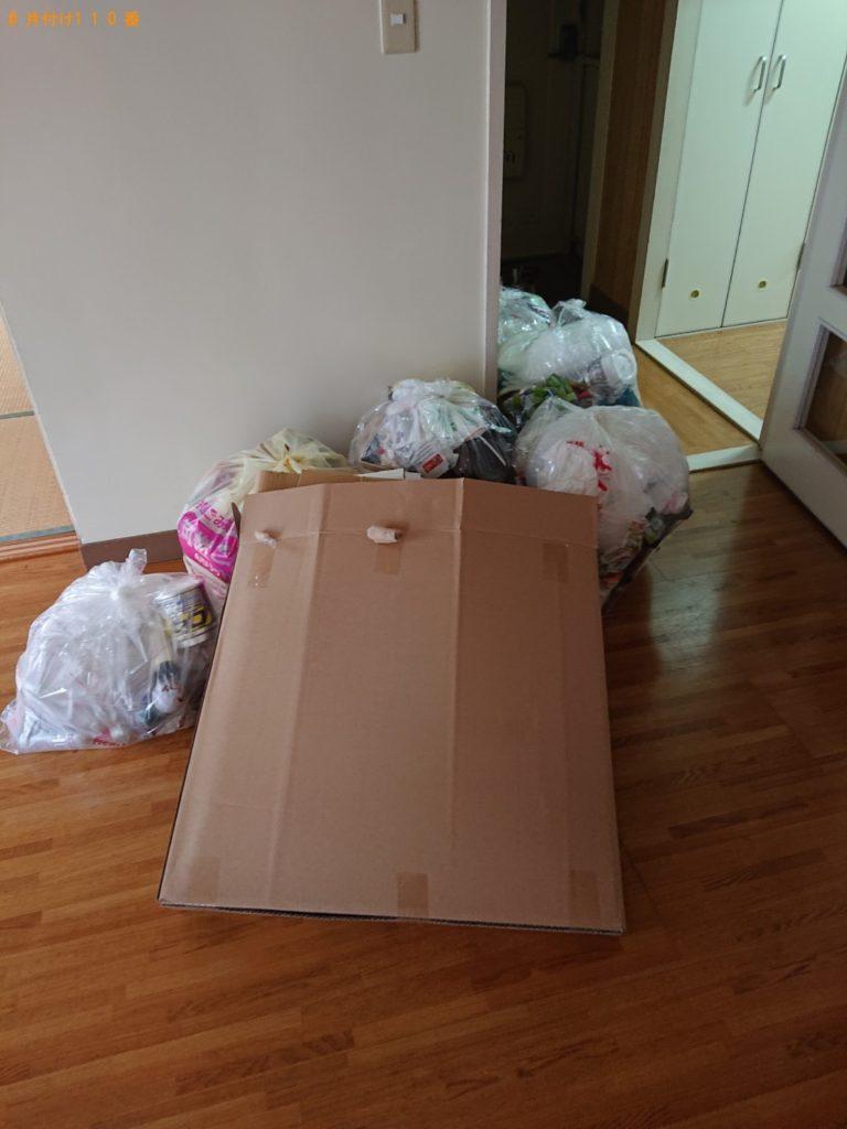 【東松島市】引っ越し時に出た非分別の家庭ごみの回収・処分