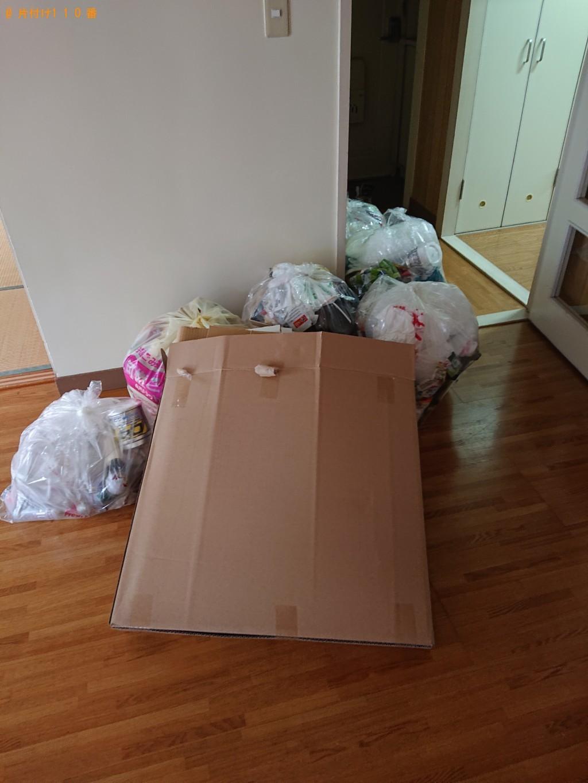 【舞鶴市泉源寺】引っ越し時に出た非分別の家庭ごみの回収・処分