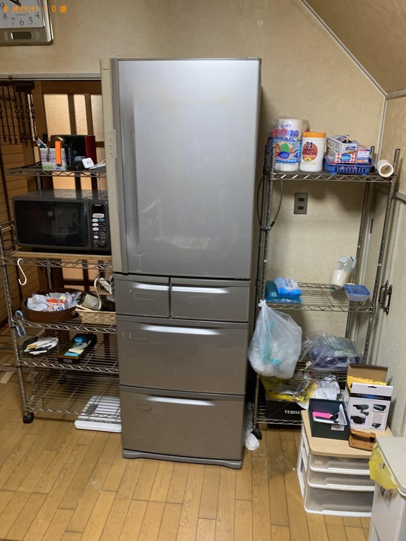 【京都市下京区】5ドアの冷蔵庫の回収・処分ご依頼