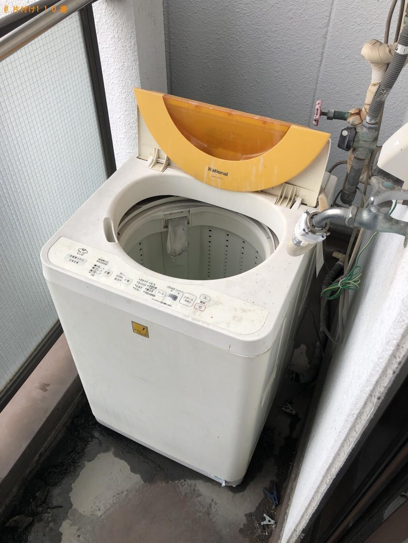 【京都市右京区】冷蔵庫、洗濯機の回収・処分ご依頼