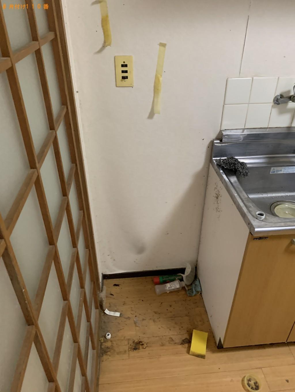【京都市左京区】冷蔵庫、掃除機、ガスコンロ等の回収・処分ご依頼