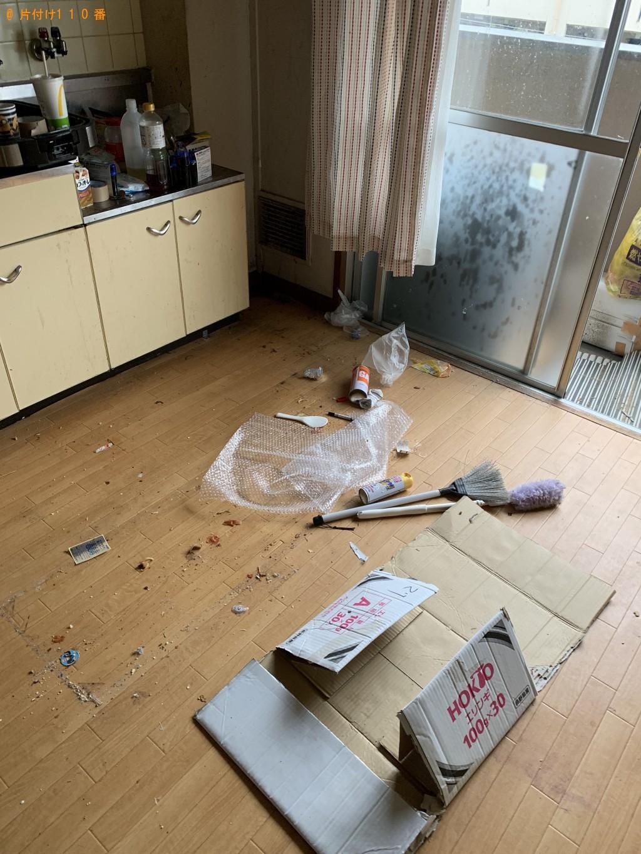 【京都市伏見区】メタルラック、ベビーベッドの回収・処分ご依頼