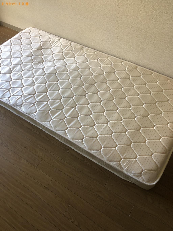 【京都市中京区】シングルベッドの回収・処分ご依頼
