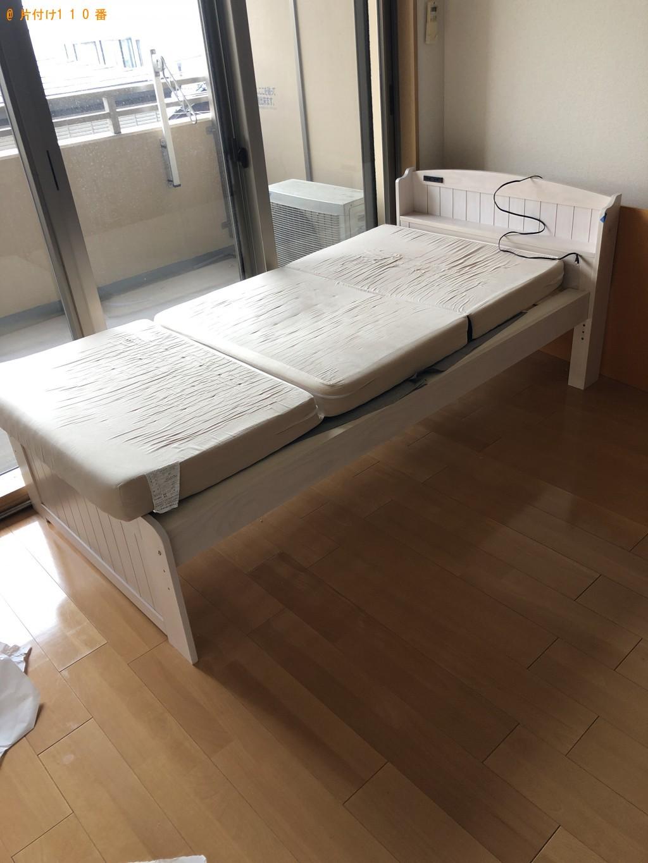 【京都市中京区】ローテーブル、シングルベッド等の回収・処分ご依頼