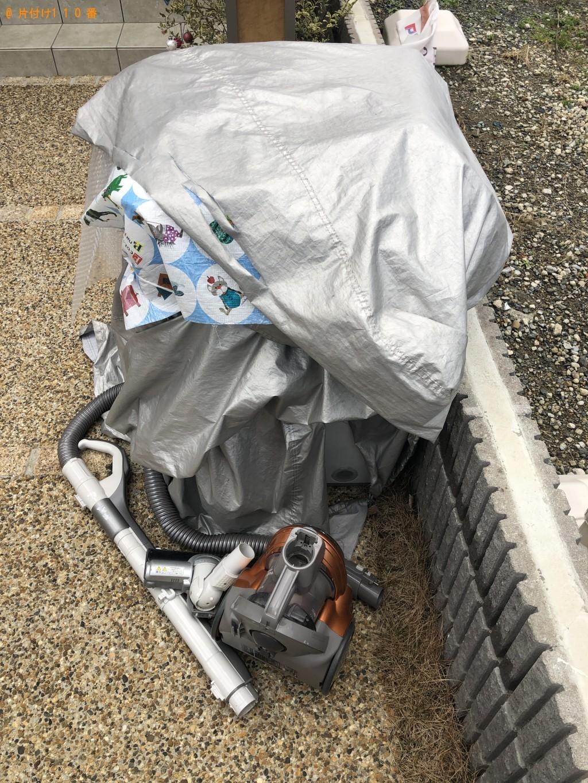 【京都市右京区】洗濯機、掃除機の回収・処分ご依頼
