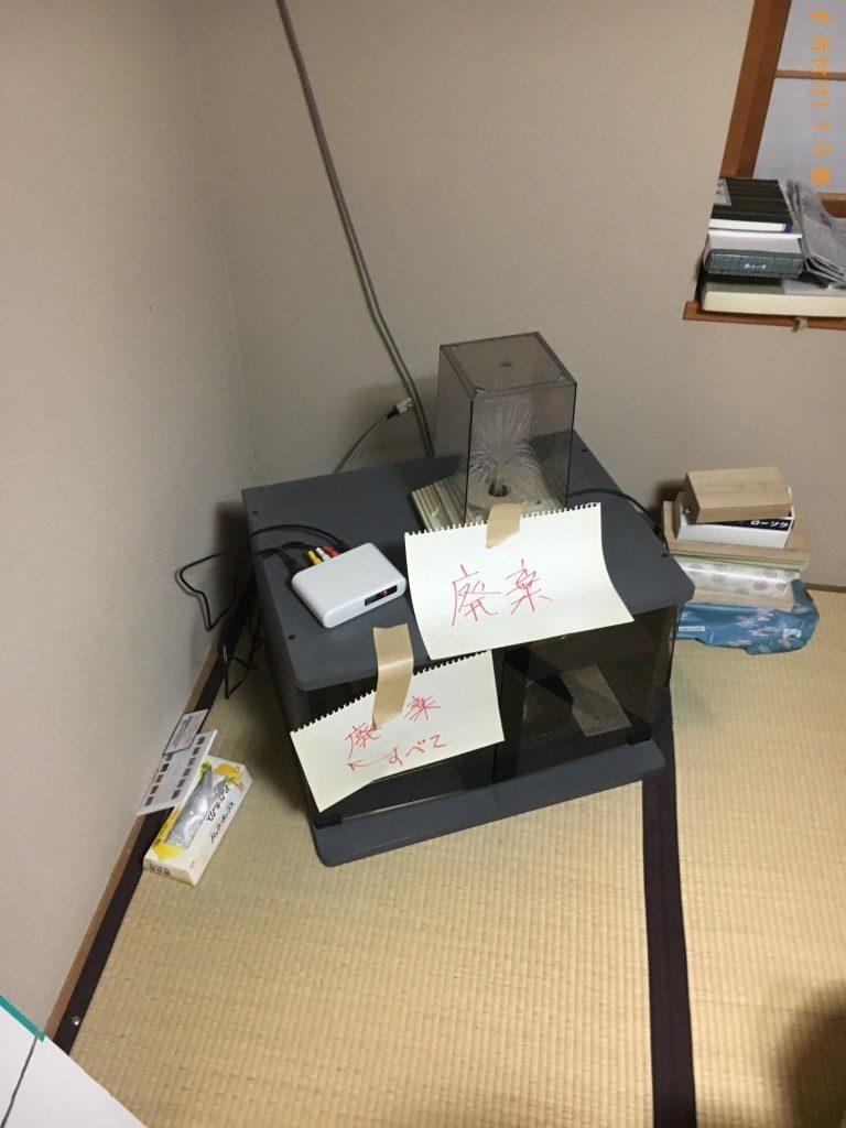 【京都市】テレビ台等の回収・処分ご依頼 お客様の声