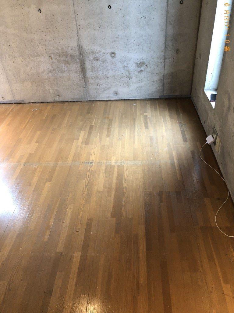 【京都市右京区】カラーボックス、ダブルベッドの回収・処分ご依頼