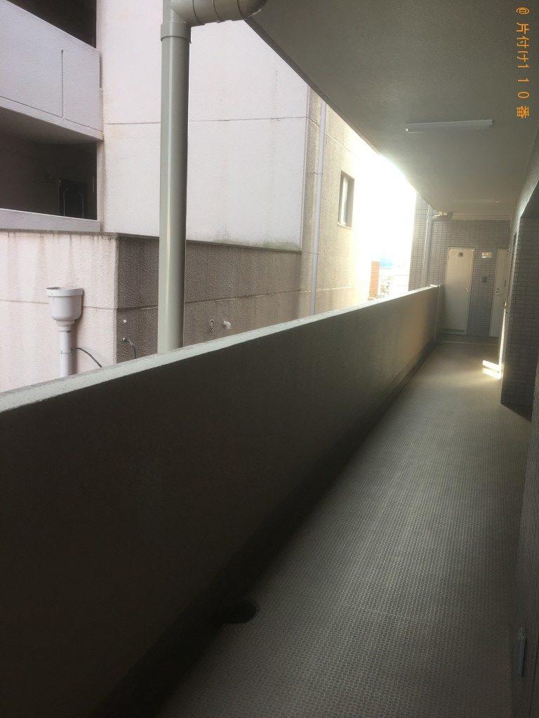 【京都市右京区】食器棚、レンジ台、ローテーブル等の回収・処分