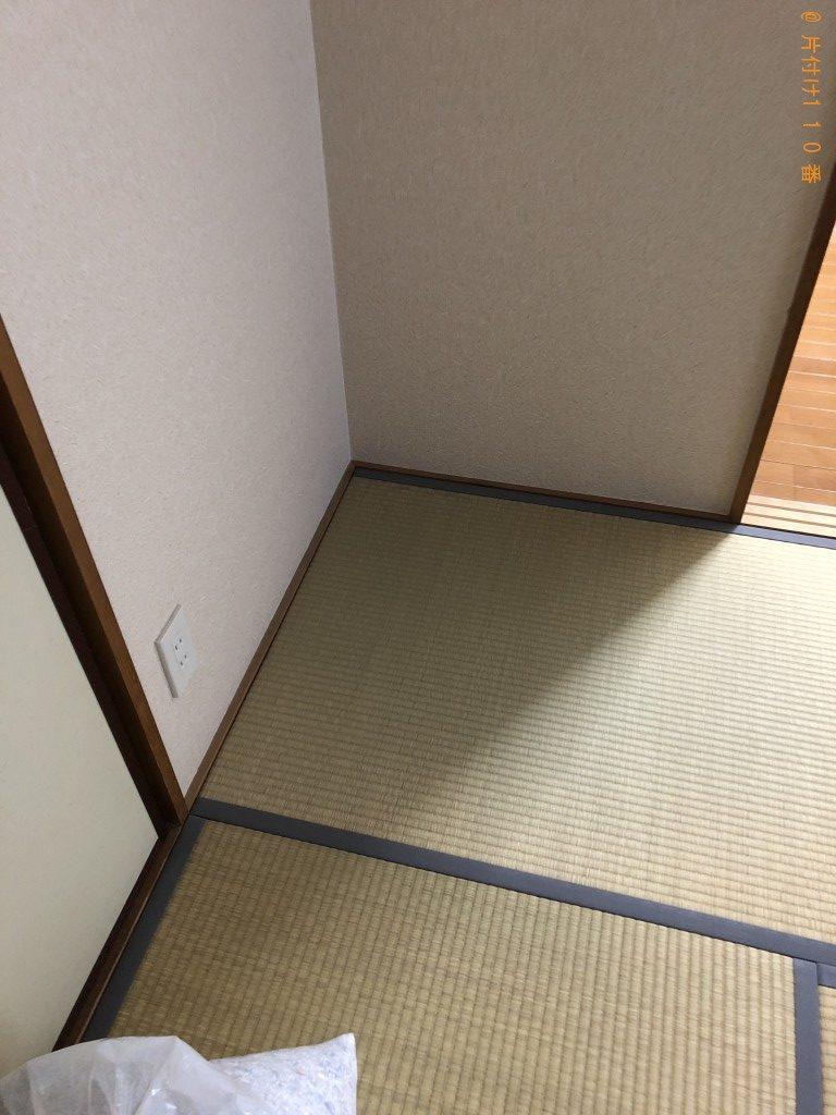 【京都市下京区】本棚、メタルラックの回収・処分ご依頼 お客様の声